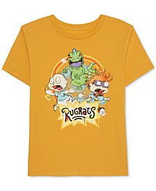 Juniors' Rugrats Graffiti T-Shirt