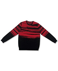 Men's Abstract Cotton Sweater, Created for Macy's