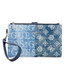 Kaylyn Double Zip Organizer Wallet