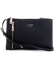 Naya Double Zip Crossbody Bag