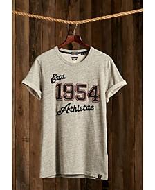 Vintage-like Applique Men's T-shirt