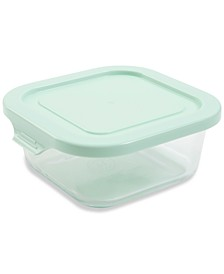 27-oz. Glass Square Food Storage Container with Lid
