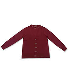 Charter Club V-Neck Button Cardigan, Created for Macy's