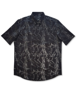 Alfani Men's Printed Woven Shirt, Created for Macy's