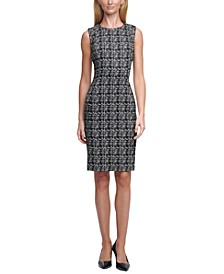 Patterned Sheath Dress