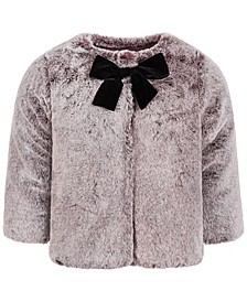 Baby Girls Gradient Faux-Fur Coat, Created for Macy's