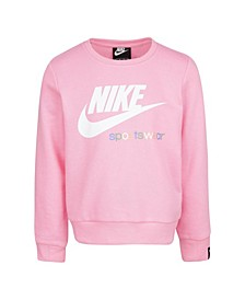 Toddler Girls Sportswear Crewneck Sweatshirt