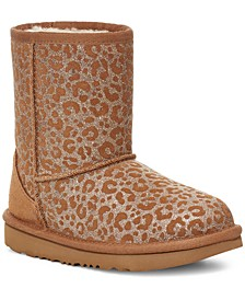 Toddlers Classic Glitter Leopard Boots