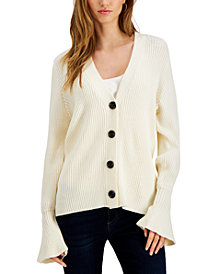 Fever Bell-Sleeve Cardigan