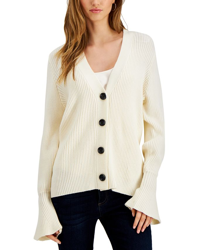 Fever - Bell-Sleeve Cardigan