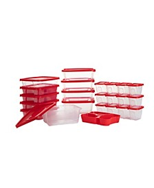Meal Prep 49-Pc. Food Storage Containers