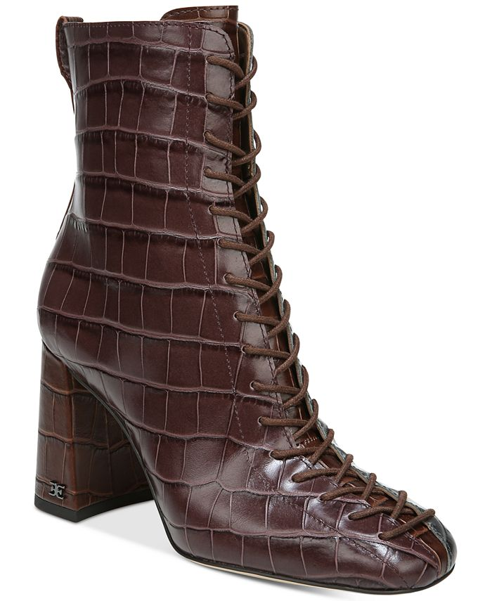 Sam Edelman - Women's Carney Lace-Up Booties