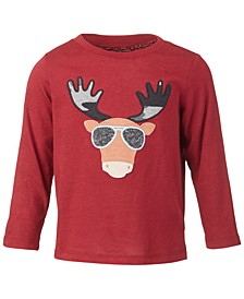 Baby Boys Cool Moose Tee, Created for Macy's