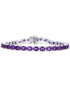 Amethyst Tennis Bracelet (9-1/2 ct. t.w.) in Sterling Silver