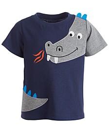 Baby Boys Short Sleeve Dragon Tee, Created for Macy's