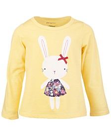 Baby Girls Town Bunny Tee, Created for Macy's