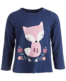 Baby Girls Town Fox Tee, Created for Macy's