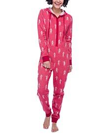 Storm Trooper Hooded Fleece Union Suit Pajamas