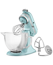 KitchenAid® Artisan® Design Series 5 Quart Tilt-Head Stand Mixer with Glass Bowl