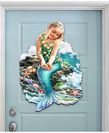 by Dona Gelsinger Mermaiden Wall and Door Hanger