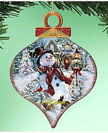 by Dona Gelsinger an Old-Fashioned Christmas Ornament Drop, Set of 2