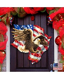 by Dona Gelsinger American Liberty Eagle Wall and Door Hanger