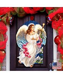 by Dona Gelsinger Angel of The Light Wall and Door Hanger