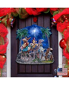 by Dona Gelsinger The Magic of Three Kings Wall and Door Hanger