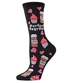 Perfect Together Women's Novelty Socks