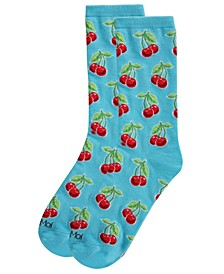 Cherries Women's Novelty Socks
