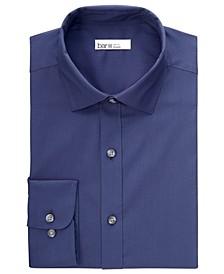 Men's Organic Cotton Tonal Dobby Slim Fit Dress Shirt, Created for Macy's