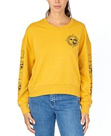 Juniors' Celestial Crewneck Sweatshirt