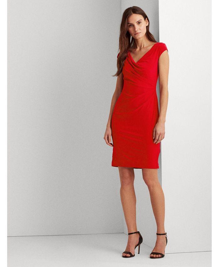 Lauren Ralph Lauren - Pleated Jersey Dress