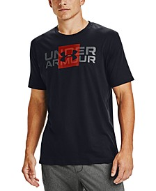 Men's Box Logo Wordmark T-Shirt