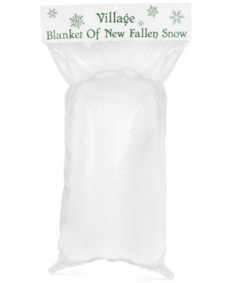 Village Blanket of New Fallen Snow