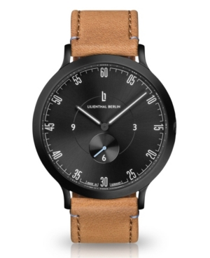 L1 All Light Brown Leather Strap Watch