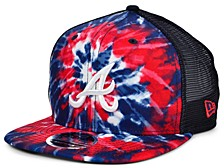 Atlanta Braves Tie Dye Mesh Back 9FIFTY Cap