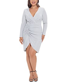 Plus Size Ruched Sheath Dress