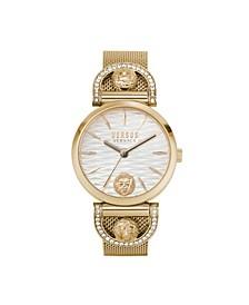 Women's Iseo Rose Gold Tone Stainless Steel Bracelet Watch 36mm