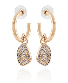 Women's Lovely Baubles Hoop Drop Earring