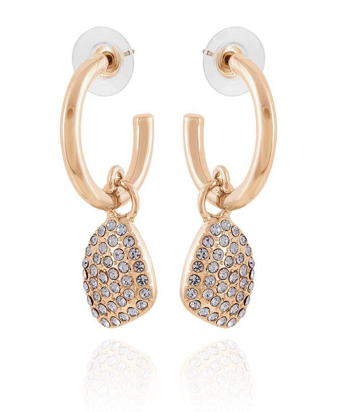 T Tahari Women's Lovely Baubles Hoop Drop Earring