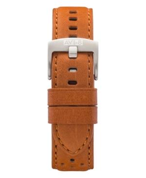 Men's Brown Genuine Leather Strap