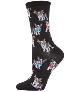 Studious Dogs Women's Novelty Socks