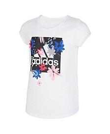 Big Girls Short Sleeve Scoop Neck Tee