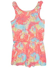 Big Girls Tie Dye Romper