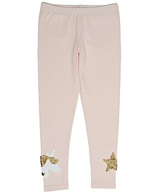Unicorn And Star Flipped Sequin Legging