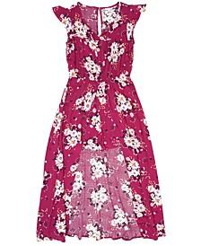 Epic Big Girls Floral Walk-Through Dress