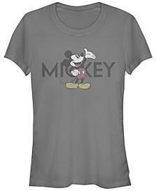 Women's Disney Mickey Classic Vintage-Like Mickey Short Sleeve T-shirt