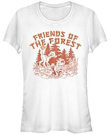 Women's Bambi Forest Friends Short Sleeve T-shirt
