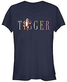 Women's Winnie the Pooh Tigger Fashion Short Sleeve T-shirt